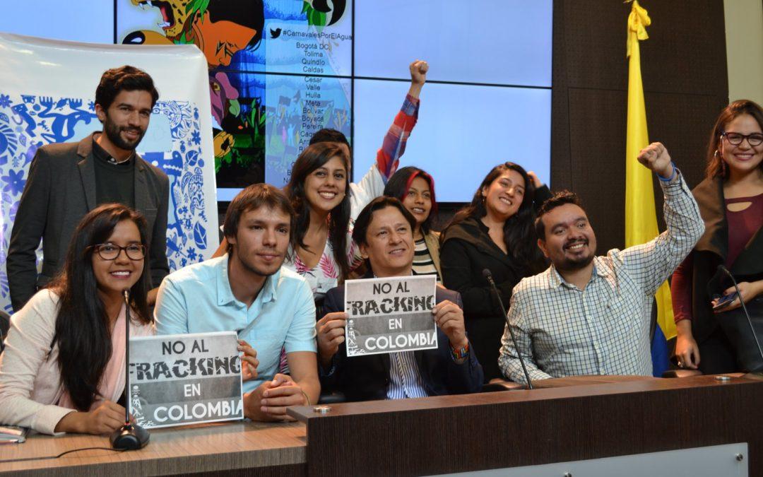 Rueda de prensa Colombia libre de Fracking