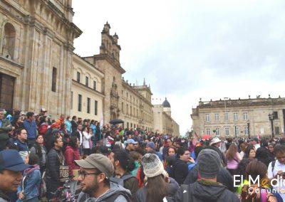 Marcha contra el PND