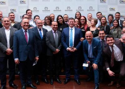Cubrimiento De La Entrega De Credenciales A Congresistas Del Partido Colombia Justa Libres En El Consejo Nacional Electoral