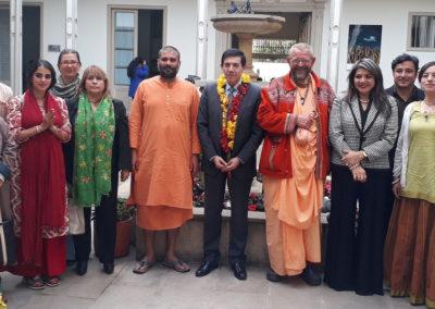 Participación Y Cubrimiento del Diálogo Representantes Tradiciones de la India y Dirección de Asuntos Religiosos del Ministerio del Interior
