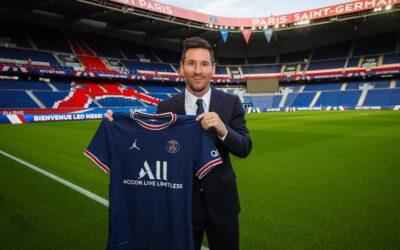 Lionel Messi, Nuevo Jugador del París Saint-Germain